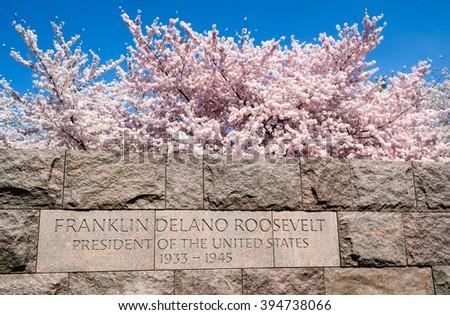 FDR Memorial - stock photo