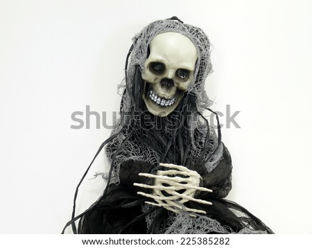 fear of death doll - stock photo