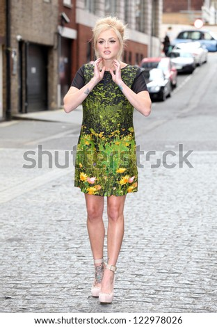 Fearne Cotton launching her fashion collection for Very, London. 13/09/2012 Picture by: Alexandra Glen