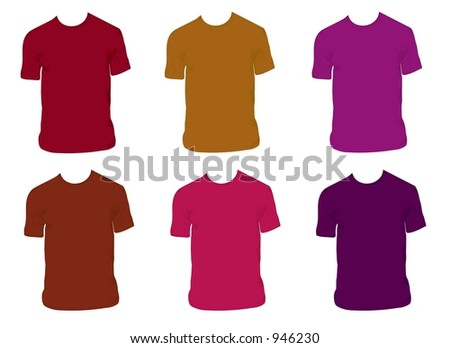 Featuring 4 colors of cool shirts.