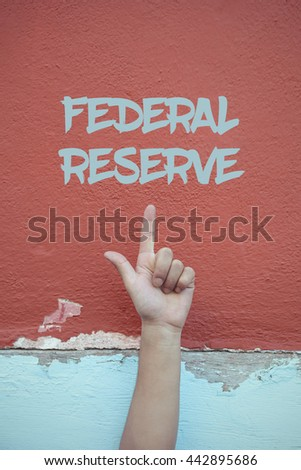 Federal Reserve. - stock photo