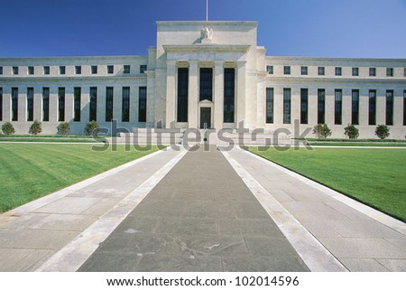 Federal Reserve Building - stock photo