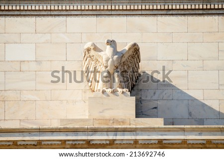 Federal Reserve Building, Washington DC, USA. - stock photo