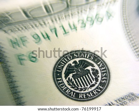 Federal reserve system - stock photo