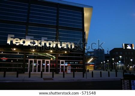 Fedex Forum Memphis - stock photo