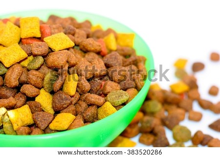 Feed for cats - stock photo