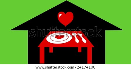 Feed the hungry - stock photo