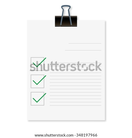 Feedback concept illustration with shadow on  a white background - stock photo
