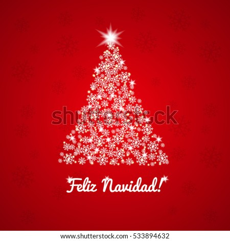 Merry Christmas Happy New Year 2017 Stock Vector 518900068 ...