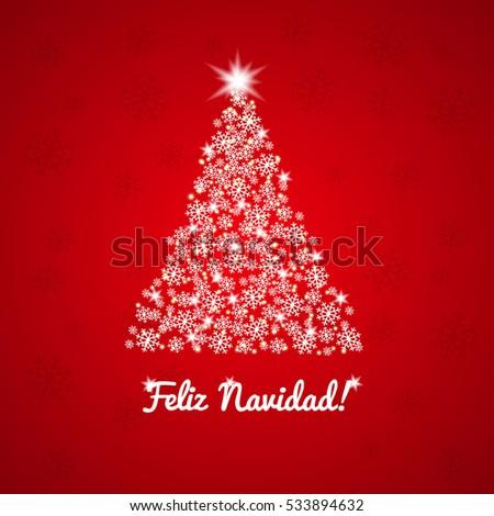 Feliz navidad christmas greeting card spanish stock illustration feliz navidad christmas greeting card spanish greeting m4hsunfo