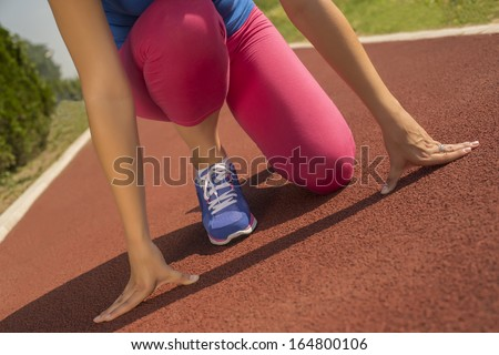 Female athlete