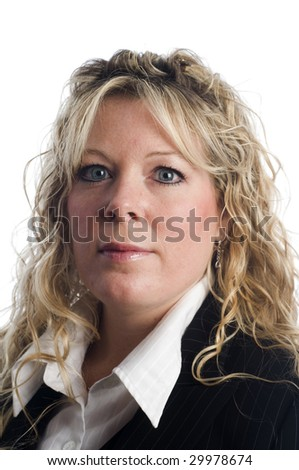 female business executive portrait head shot