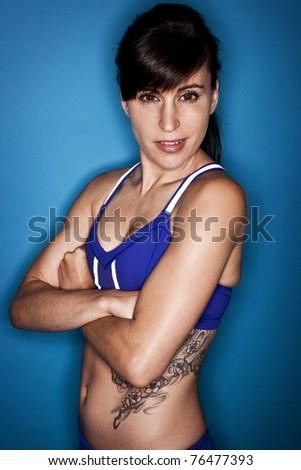 Female Fitness - stock photo