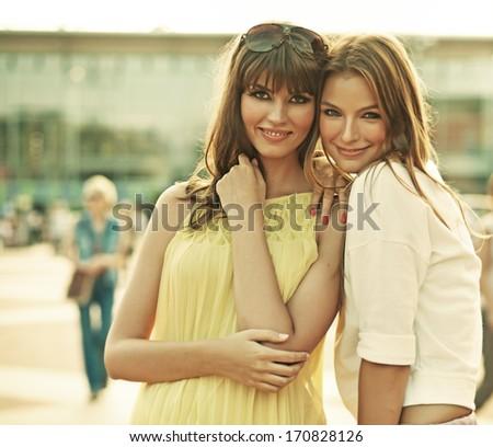 Female friends - stock photo