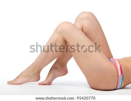 Female legs - stock photo