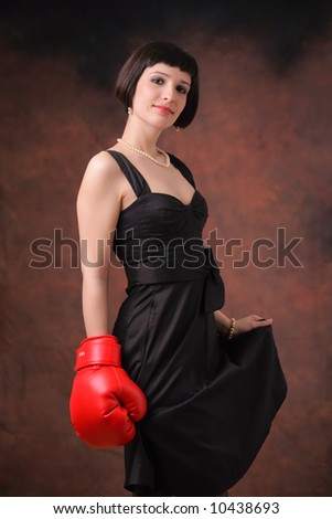 Female power - stock photo