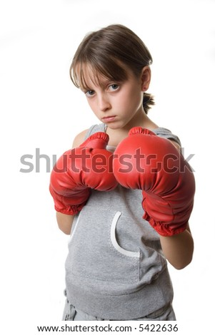 Female self-defense class (boxing)