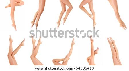 Female Spa Nude - stock photo