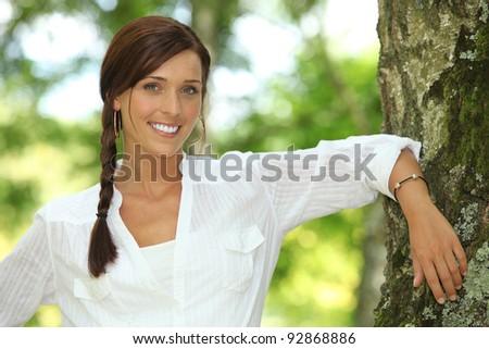 Feminine beauty - stock photo