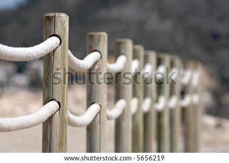 fence - stock photo