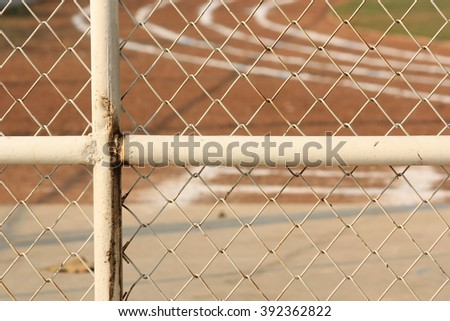 fence gates - stock photo