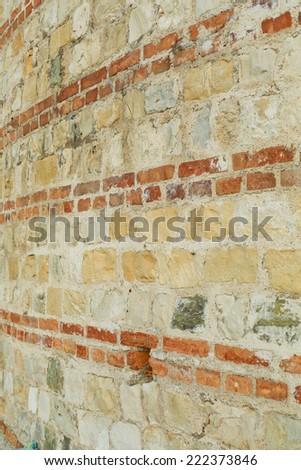 Fence wall - stock photo