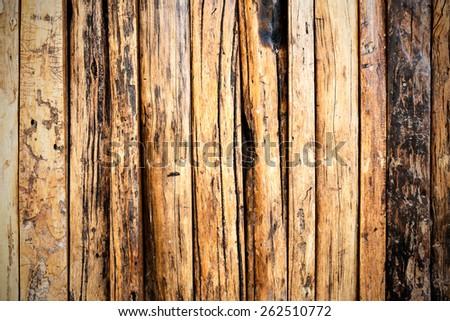 fence weathered wood background. old wood background - stock photo