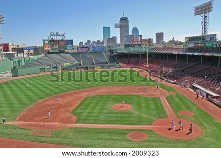 Fenway Park - stock photo