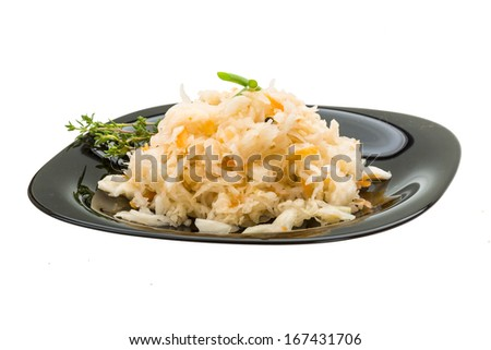 Fermented Cabbage with thyme