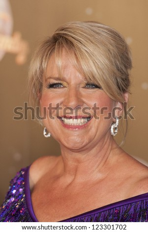 Fern Britton arriving for the Strictly Come Dancing 2012 Launch, Television Centre, London. 11/09/2012 Picture by: Simon Burchell - stock photo