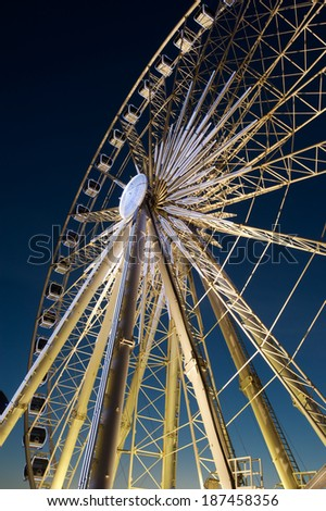 Ferris wheel at Albert Dock