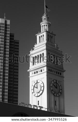 Ferry Terminal, San Francisco, California - stock photo