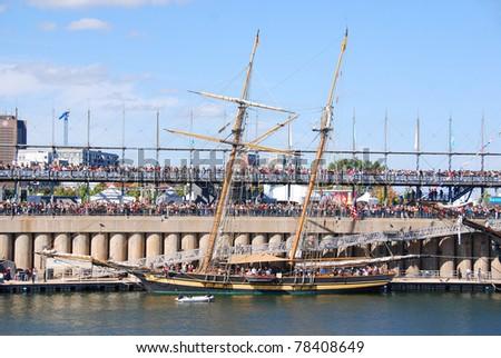 Festival du Bateau Classique de Montréal - Montreal Classic Boat Festival - stock photo