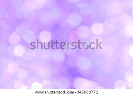 Festive abstract blurred lilac and pink Christmas background - stock photo