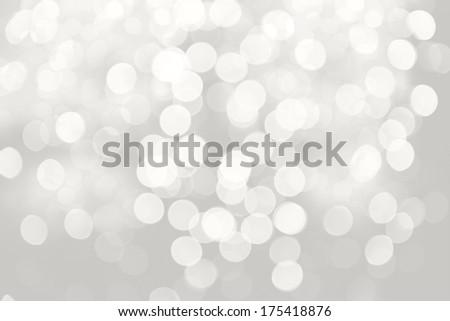 Festive background of lights - stock photo