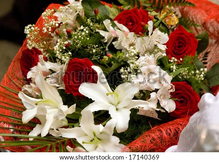 Festive bouquet - stock photo