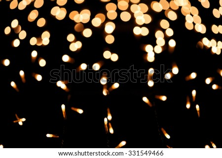 Festive Christmas background,bokeh abstract. - stock photo
