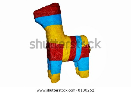 Festive Pinata - stock photo