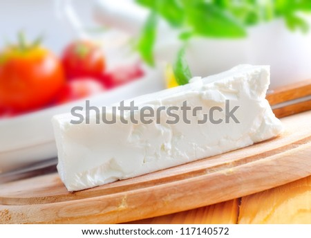 Feta - stock photo