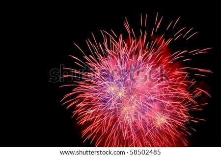 Feuerwerk - stock photo
