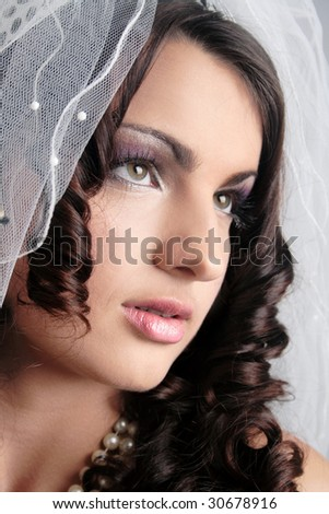 fiancee face make-up skin fashion beauty hair