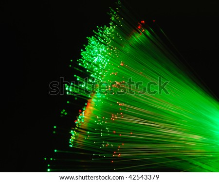 Fiber optics background, bunch of the optical fibres.see more in my portfolio - stock photo
