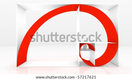 Fibonacci Sequence - stock photo