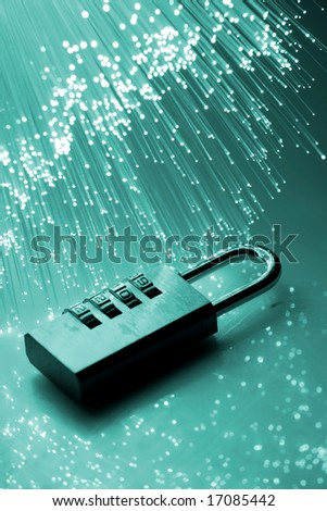 Fibre Optical - stock photo