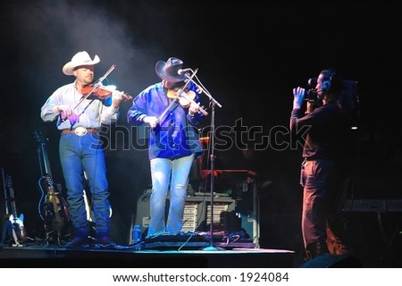 Fiddlers in Alan Jackson Band