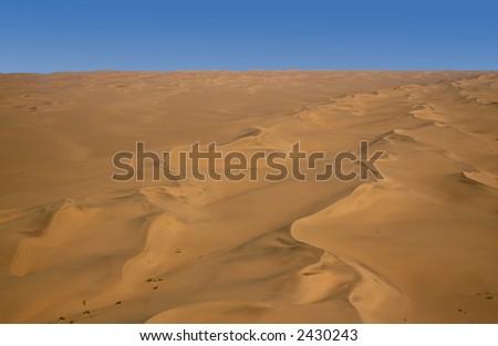 Field of Dunes - stock photo