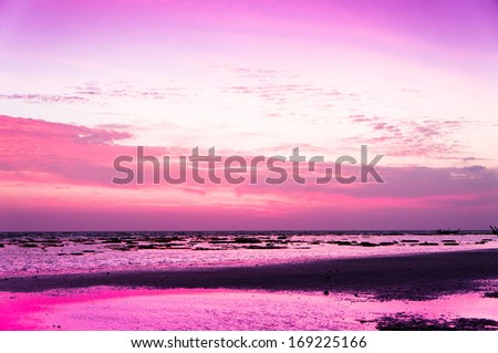 Fiery Backdrop Idyllic Wallpaper  - stock photo