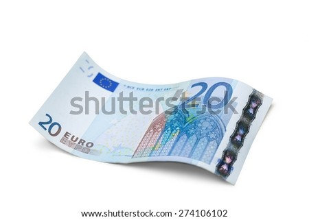 Fifty Euro Banknote, Euro Symbol, European Union Currency. - stock photo