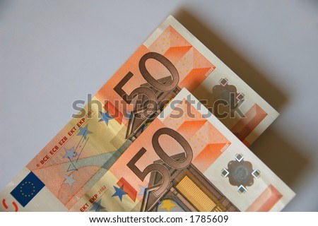fifty-fifty chance... - stock photo