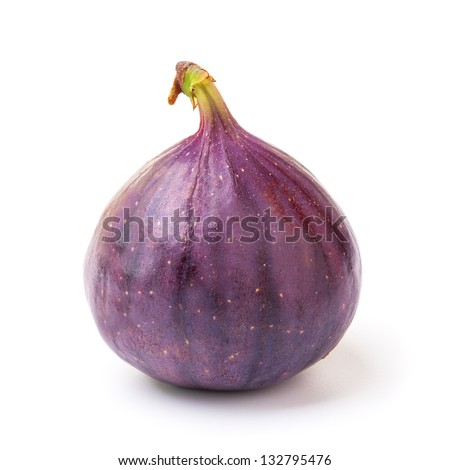 fig isolated on white